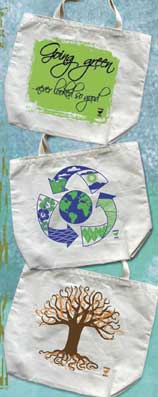 Dodo Bags Environmentally Friendly reusable cotton tote and grocery bags